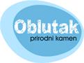 Oblutak-ukrasni kamen Logo